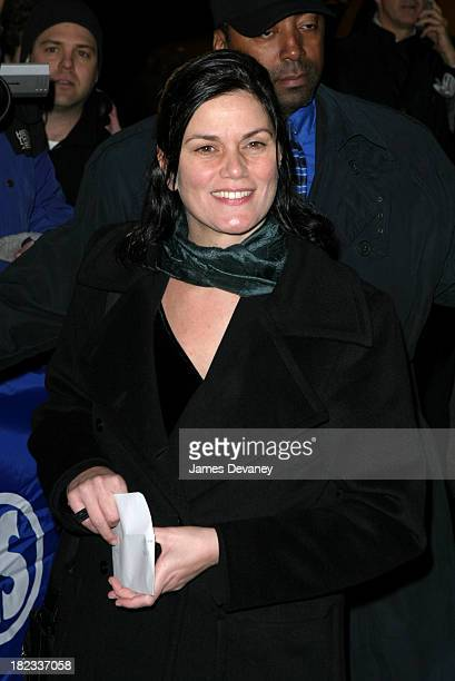 Linda Fiorentino during The Retreat from Moscow Play Opening at Booth Theatre in New York City New York United States