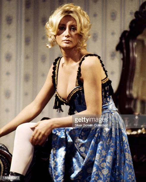 Linda Gaye Scott US actress in a portrait issued as publicity for the film 'Westworld USA 1973 The science fiction film written and directed by...