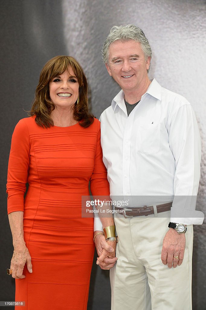 Linda Gray and Patrick Duffy pose at a photocall during the 53rd Monte Carlo TV Festival on June 12, 2013 in Monte-Carlo, Monaco.