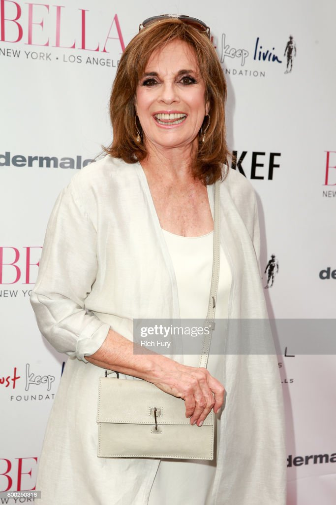 Linda Gray attends the BELLA Los Angeles Summer Issue Cover Launch Party at Sofitel Los Angeles At Beverly Hills on June 23, 2017 in Los Angeles, California.