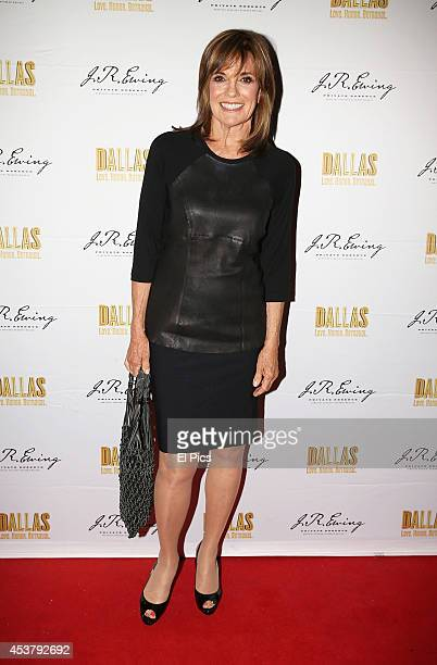 Linda Gray attends the JR Ewing Bourbon's Launch Party on August 18 2014 in Sydney Australia