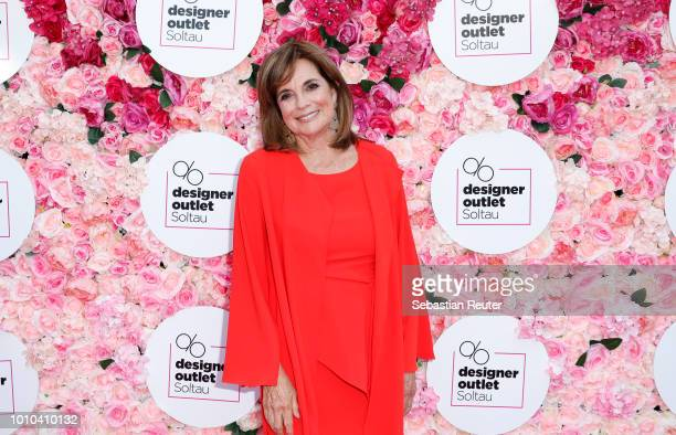 Linda Gray attends the Late Night Shopping at Designer Outlet Soltau on August 3 2018 in Soltau Germany