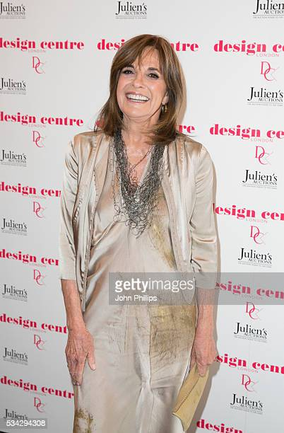 Linda Gray attends the Marilyn Monroe Legacy of a Legend launch party at Design Centre Chelsea Harbour at Design Centre on May 25 2016 in London...