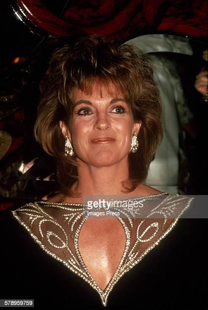 Linda Gray circa 1985 in New York City