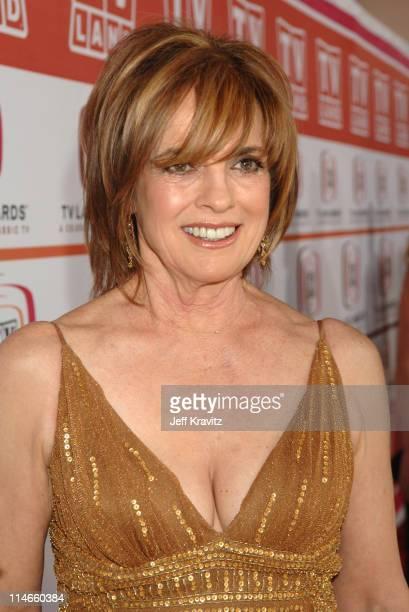 Linda Gray during 2006 TV Land Awards Red Carpet at Barker Hangar in Santa Monica California United States
