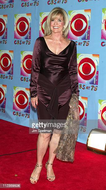 Linda Gray during CBS at 75 at Hammerstein Ballroom in New York City New York United States