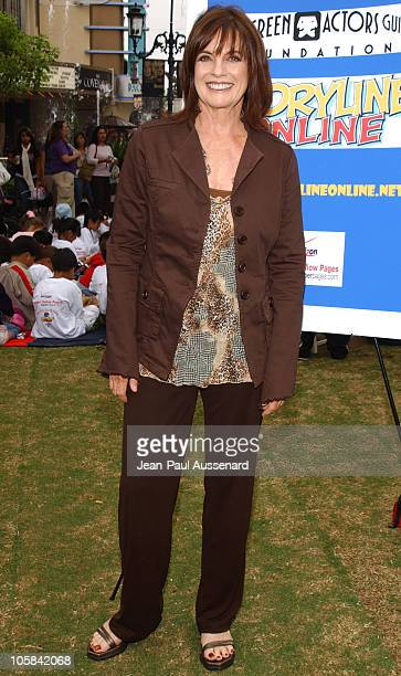 Linda Gray during Screen Actors Guild Foundation and Verizon Announce New Season of Storyline Online at The Grove in West Los Angeles California...