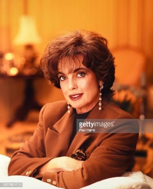Linda Gray Photographed June 23 1991 in Los Angeles California