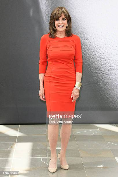 Linda Gray poses at a photocall during the 53rd Monte Carlo TV Festival on June 12 2013 in MonteCarlo Monaco