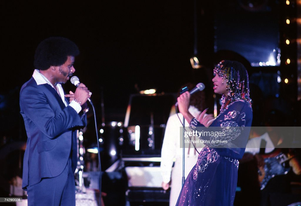 Peaches & Herb Performing : News Photo
