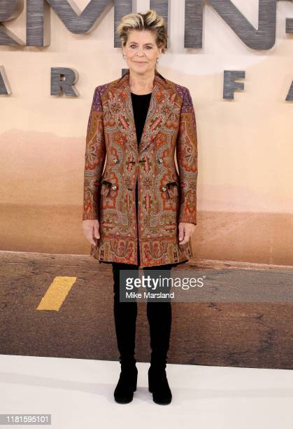 Linda Hamilton attends the Terminator Dark Fate photocall on October 17 2019 in London England