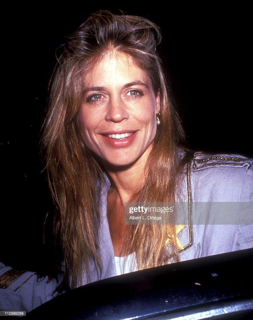 Linda Hamilton at the Play