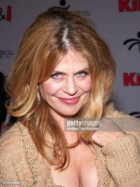 Linda Hamilton during Wheels Up Films' 'The Kid I' Los Angeles Premiere Arrivals at Grauman's Chinese Theatre in Hollywood California United States