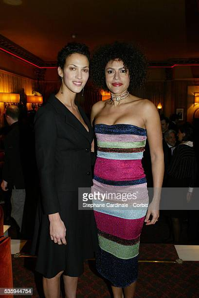Linda Hardy and Victor Lazlo attend the United Nations High Commission for Refugees gala dinner