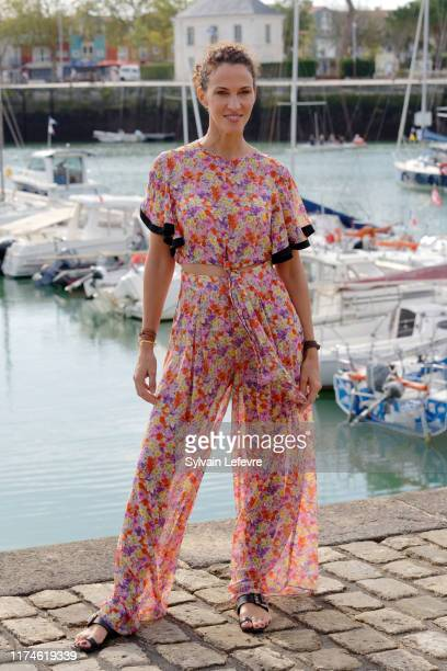Linda Hardy attends the 21th Festival of TV Fiction At La Rochelle Day Four on September 14 2019 in La Rochelle France