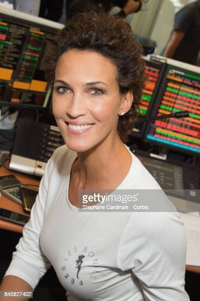Linda Hardy attends the Aurel BGC Charity Benefit Day 2017 on September 11 2017 in Paris France