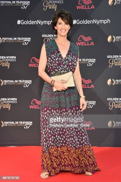 Linda Hardy attends the Golden Nymph Nominees Party at the MonteCarlo Bay Hotel on June 19 2017 in MonteCarlo Monaco