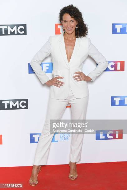 Linda Hardy attends the Groupe TF1 Photocall At Palais De Tokyo on September 09 2019 in Paris France