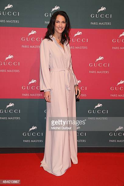 Linda Hardy attends the Gucci Paris Masters 2013 Day 2 at Paris Nord Villepinte on December 6 2013 in Paris France