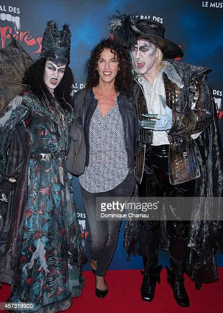 Linda Hardy attends the 'Le Bal Des Vampires' Premiere at Theatre Mogador on October 16 2014 in Paris France