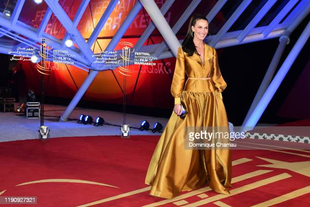 Linda Hardy attends the opening ceremony during the 18th Marrakech International Film Festival on November 29 2019 in Marrakech Morocco