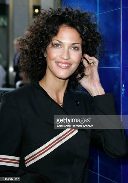 Linda Hardy during Collateral Premiere Paris at UGC Normandy in Paris France