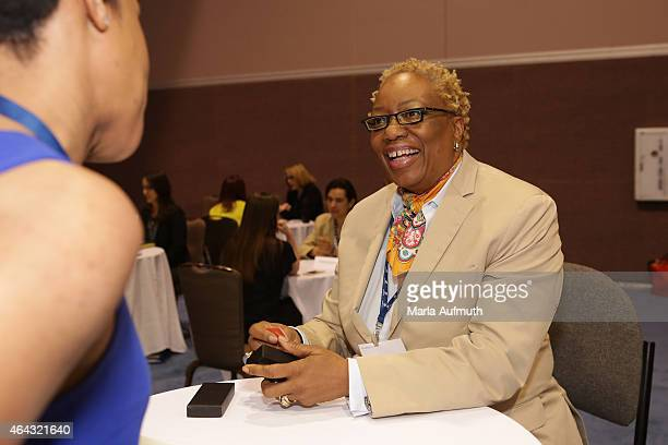 Linda Harrison participates in the Local Leader MeetUps during LeadOnWatermark's Silicon Valley Conference For Women at Santa Clara Convention Center...