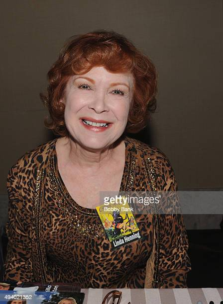 Linda Henning attends the Chiller Theatre Expo Day 1 at Sheraton Parsippany Hotel on October 23 2015 in Parsippany New Jersey