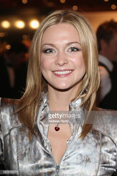 Linda Hesse attends the 'Goldene Henne' 2012 award after show party on September 19 2012 in Berlin Germany