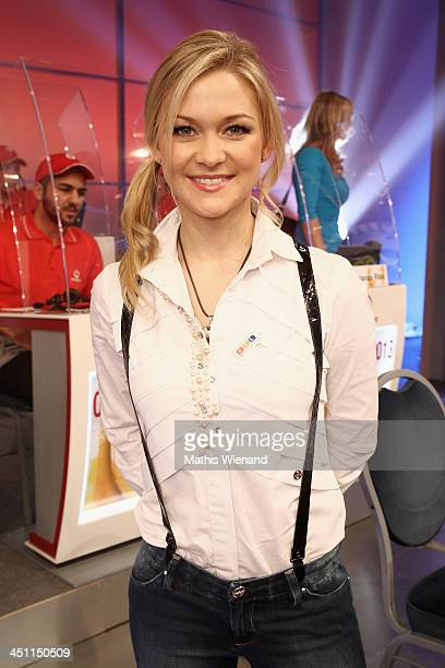 Linda Hesse attends the RTL Telethon 2013 on November 21 2013 in Cologne Germany