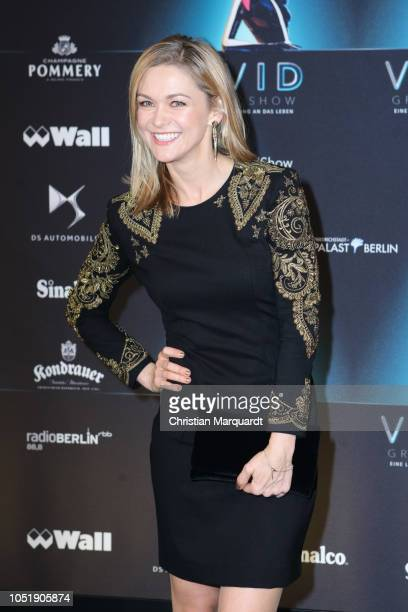 Linda Hesse attends the VIVID Grand Show premiere at FriedrichstadtPalast on October 11 2018 in Berlin Germany