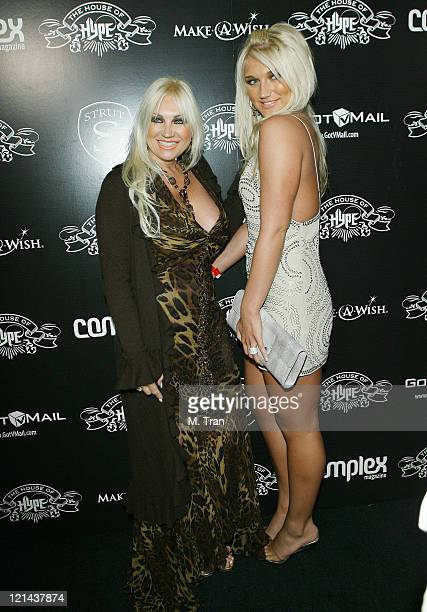 Linda Hogan and Brooke Hogan during House of Hype PreGrammy Party at Roosevelt Hotel in Hollywood California United States