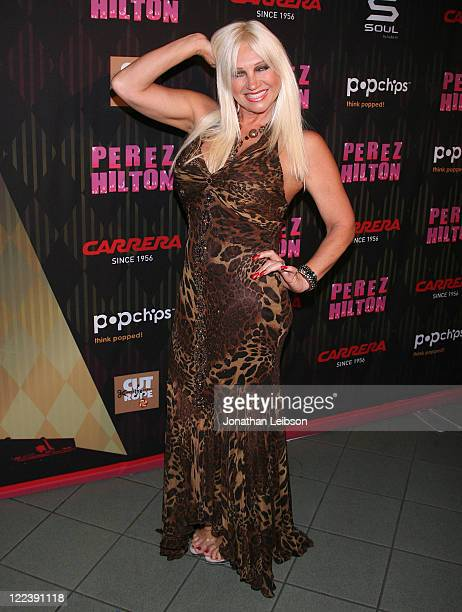 Linda Hogan attends the Perez Hilton's 2011 One Night In Los Angeles Concert Series at The Wiltern on August 27 2011 in Los Angeles California