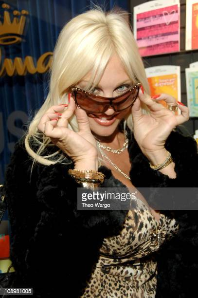 Linda Hogan wearing Vogue at Luxottica during Luxottica at the AOL Style Lounge at AOL Studio in New York City New York United States