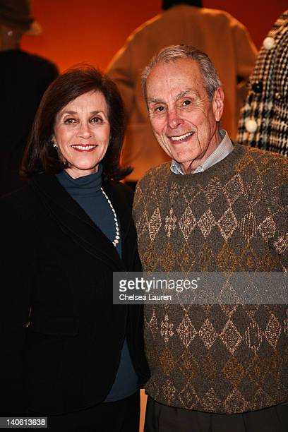 "Linda Janger and Jerry Janger attend the MOCA Leadership Circle reception and members' opening for ""The Total Look: The Creative Collaboration..."