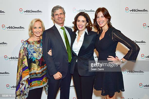 Linda Janklow guest Robert Pruzan and Amy Cappellazzo attend ArtsConnection 2016 Benefit Celebration at 583 Park Avenue on May 23 2016 in New York...