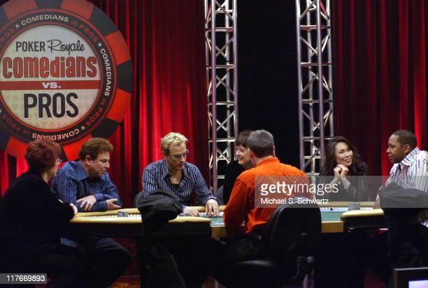 Linda Johnson, Robert Wuhl, Phil Laak, Sue Murphy, Connie Kim and Mark Curry