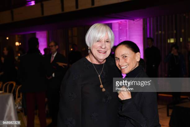 Linda K Morse and Barbara Brandt attend YAGP Stars of Today Meet The Stars of Tomorrow 2018 Gala on April 19 2018 in New York City