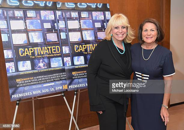 Linda Kenney Baden ESQ and Linda Wojas attend a special screening of the HBO Documentary Film Captivated The Trials Of Pamela Smart at the Paley...
