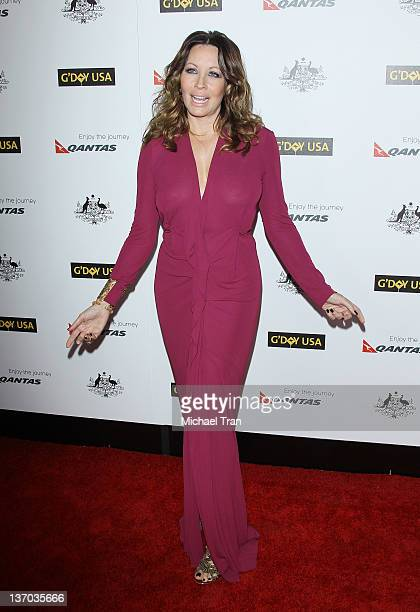 Linda Kozlowski arrives at the 9th Annual G'Day USA Los Angeles Gala held at the Grand Ballroom at Hollywood Highland Center on January 14 2012 in...