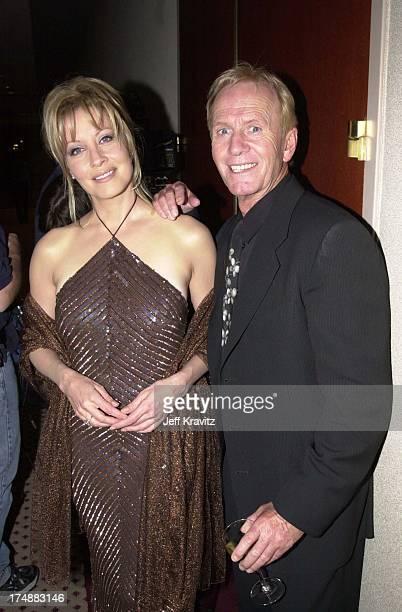 Linda Kozlowski Paul Hogan during Carousel Ball 2000 in Beverly Hills California United States