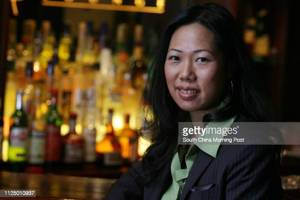 Linda Kwan, marketing director of IGOR's Group, pictured at Crow's Nest Lounge, Lan Kwai Fong, Central. 06 January 2007