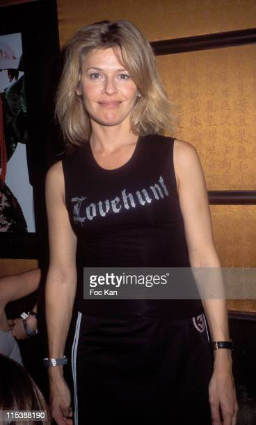 Linda Lacoste during Corleone Jeans Party at Man Ray in Paris at Man Ray in Paris France