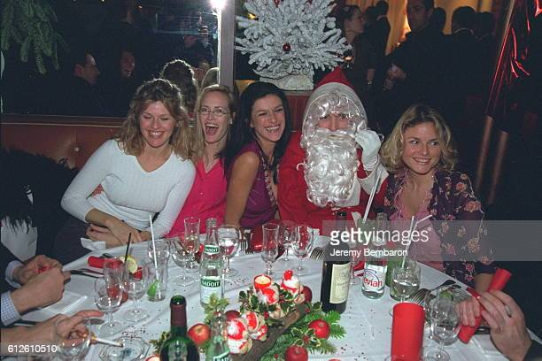 Linda Lacoste Gabrielle Lazure X Father Christmas and Alexandra Bronkers