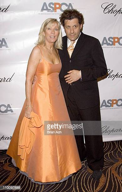 Linda Lambert and Isaac Mizrahi during The Tenth Annual ASPCA Bergh Ball Tails of Time at Mandarin Oriental in New York City New York United States