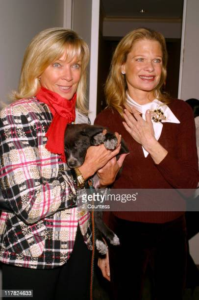 Linda Lampert and Robin Bell with 'Theo' 'Theo' was one of 7 pups that came from a German Shepperd that was rescued by the Humane Law Enforcement...