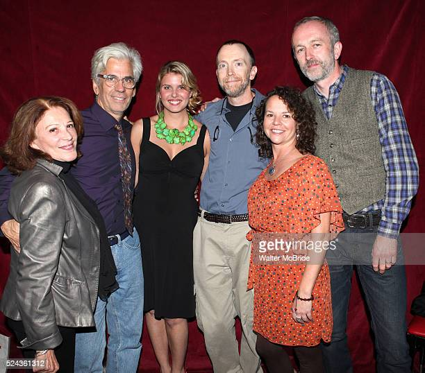 Linda Lavin Director Steve Bakunas Actress Anna Stromberg Actor Mike O'Neil Actress Michelle Gagliano and Playwright Owen Dunne at The Red Barn...