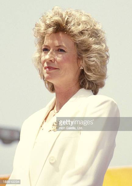 Linda Lee Caldwell attends Hollywood Walk of Fame Star to Honor Bruce Lee on April 28 1993 at 6933 Hollywood Boulevard in Hollywood California