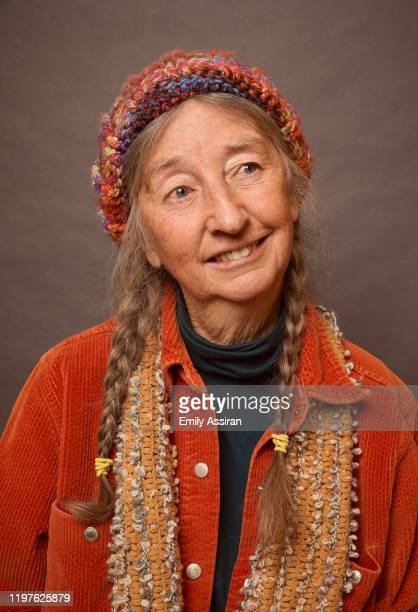 Linda Leigh from Spaceship Earth poses for a portrait at the Pizza Hut Lounge on January 26, 2020 in Park City, Utah.