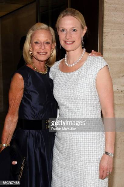 Linda Lindenbaum and Erica Tishman attend GUGGENHEIM Museum and Four Seasons Restaurant Celebrate Their Fiftieth Birthdays at The Four Seasons...